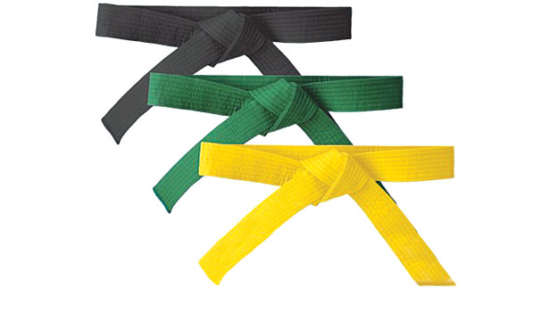 Yellow, green and black belts: wat betekenen ze en wat is het nut?